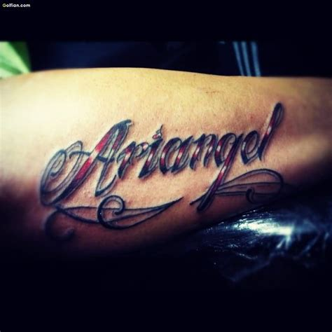 forearm word tattoos 50 most attractive ambigram word tattoos best ambigram