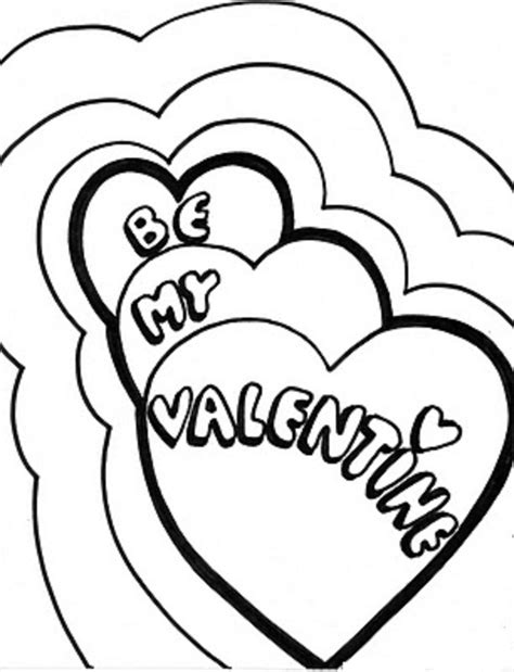 coloring page of a valentine heart valentine and love coloring pages part 4