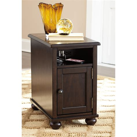 chair side table with power outlet chair side end table with power outlets usb charging by
