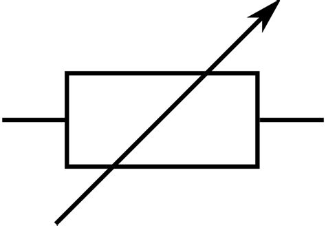 variable resistor microcontroller clipart rsa iec variable resistor symbol 2