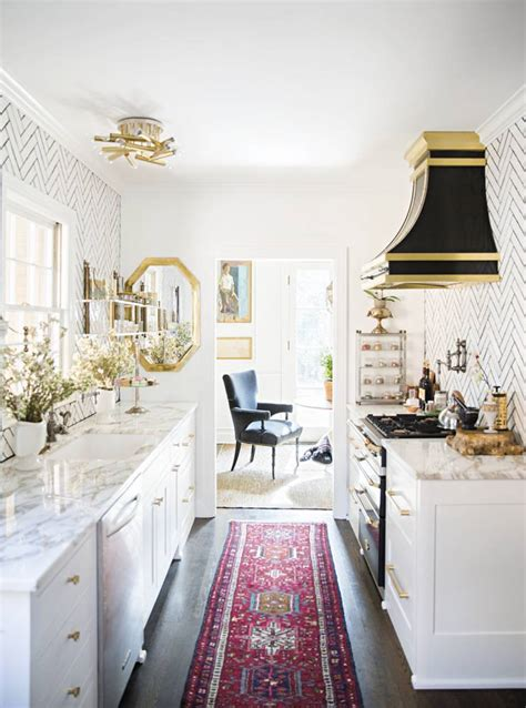 Galley Kitchen Rugs 15 Ways To Bring Personality Into Your Galley Kitchen