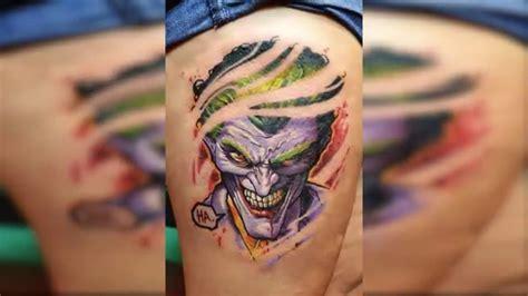 imagenes de joker tatuajes 8 locos tatuajes del joker youtube