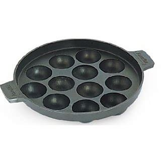 Discount Kazel Bedong Indian Isi 3 New Item 12 Pits Cambridge Non Stick Cookware Appam Patra Maker