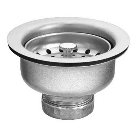 moen 22037 stainless steel sink basket strainer
