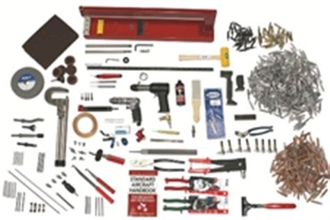 Brown Metals Pop Pilot deluxe rv aircraft tool kit 658 pieces comprehensive