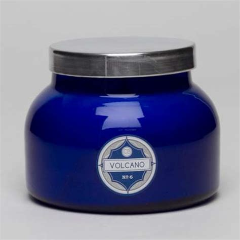 Blue Jar Candle by Blue Volcano No 6 Jar Candle