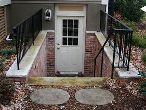 exterior basement entrance basement outside entrance basement