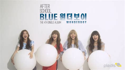 after school romanisation sub hd your daily kpop a s blue boy mv