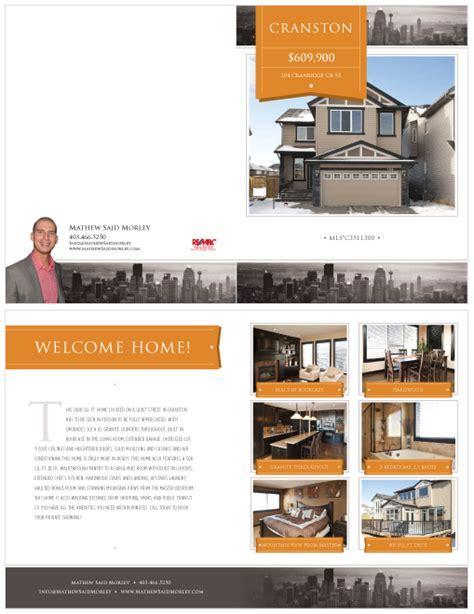 real estate feature sheet template free design portfolio of chris audibert web