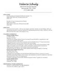 Cover Letter For Teaching Position Exles by Reading Resume Sales Lewesmr