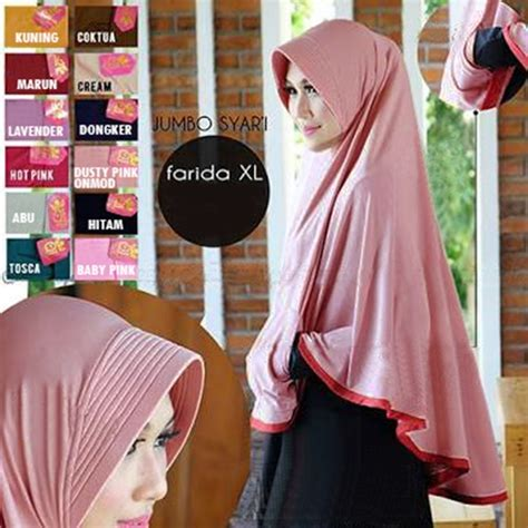 Jilbab Bergo Pocket Jumbo Uk jilbab instan bergo pocket mini uk xl jumbo syar i bundaku net