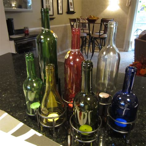wine bottle candle centerpieces s yadda yadda on soap crafts personal ramblings wine bottle candle