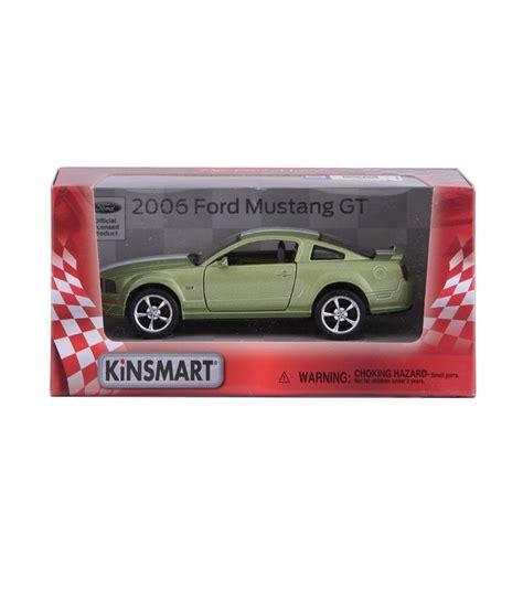Diecast Kinsmart Ford Mustang Gt kinsmart die cast metal 2006 ford mustang gt sports green