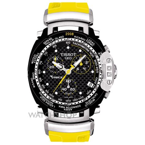 Tissot T Race Yellow Black Chain s tissot motogp limited edition chronograph