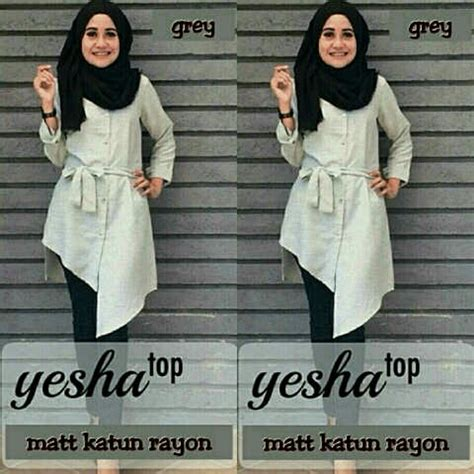Supplier Baju Yesha Top Hq miftah shop distributor supplier tangan pertama baju hijabers onlineshop konveksi baju