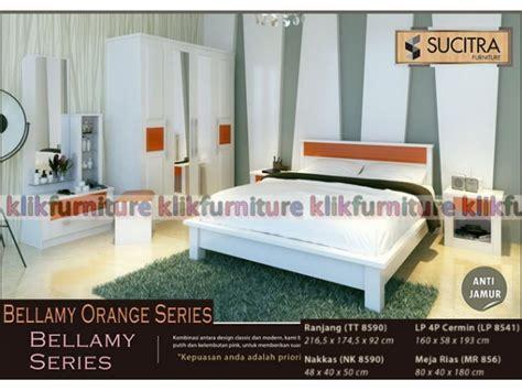 Ranjang Warna Putih kamar set warna putih bellamy sucitra new promo