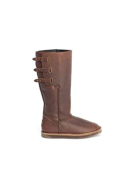 emu sheepskin boots emu narooma brown boots emu boots