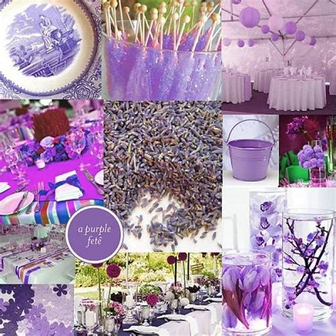 Purple Bridal Shower Decorations by Wedding Shower Ideas Purple