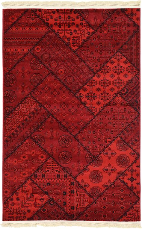 Bokhara Patchwork Design Rug Traditional Rugs Persian Carpet Authentic Rug