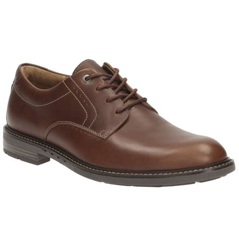clarks unelott plain mens wide casual shoes from