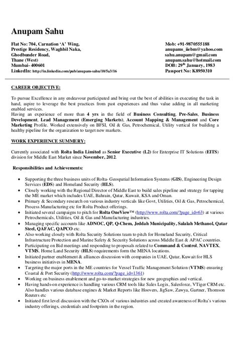 Resume Sles For Analyst Resume