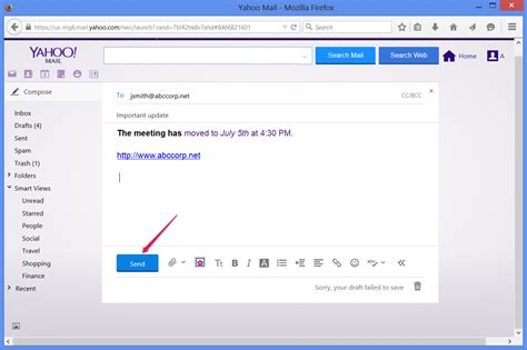 change email format yahoo mail how to send an email in yahoo techwalla com