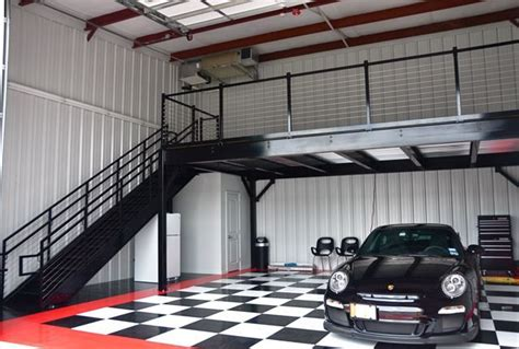 Garage Mezzanine Plans by Photo Gallery Of Garage Condos With Cars Rvs And Boats