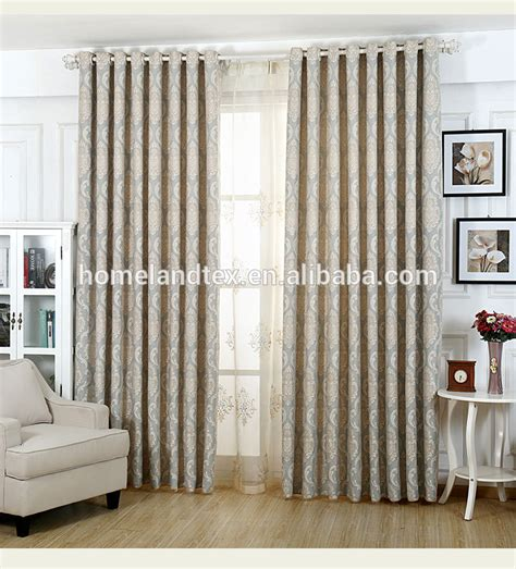 used curtains modern classic home used curtains 4 pass blackout jacquard
