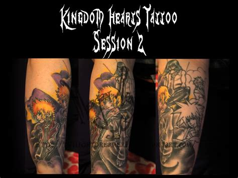 kingdom hearts tattoo progression ii by insomnia case on