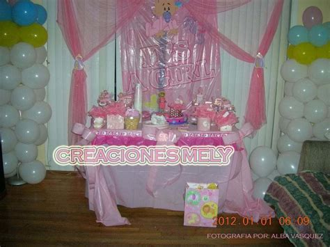 Decoracion Para Baby Shower De Niña by Decoraci 243 N Con Globos Para Baby Shower Www