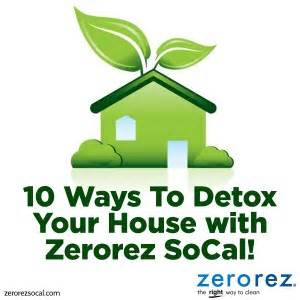 Safe Way To Detox At Home by 10 Ways To Detox Your House Zerorez Socal