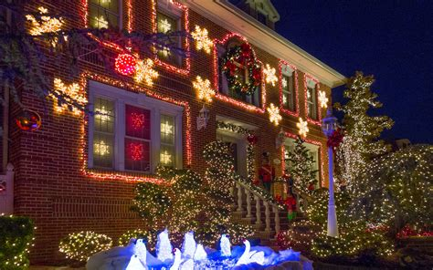 biggest christmas house nyc the best light displays in every state travel