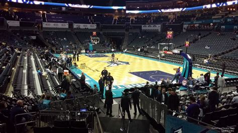 time warner cable arena section 116 spectrum center section 102 charlotte hornets