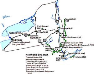 New York State Parks Map new york state national parks map nys ny