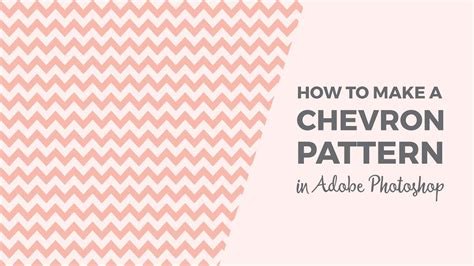 pattern photoshop chevron how to make a chevron pattern in photoshop youtube