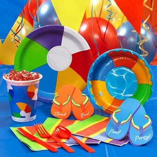 beach themed party kit 61 best images about beach theme party on pinterest