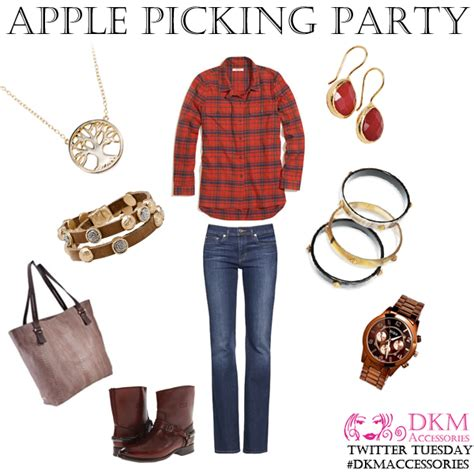 Apple Pickin Necklace From Luck Ok by Dkm Accessories Ta Florida Fashion Jewelry Fashion