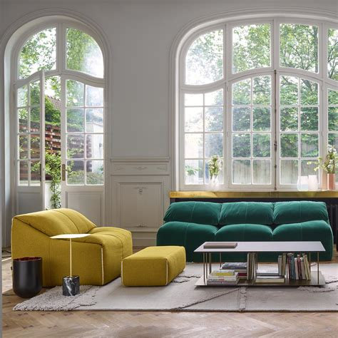 plumy armchairs from designer hi 233 ronimus ligne