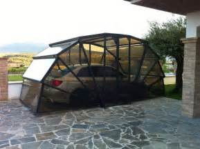 Diy Car Cover For Snow Create A Garage For Your Car In Your Driveway With This