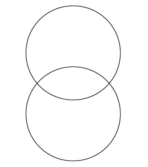 empty venn diagram blank venn diagram for my classroom