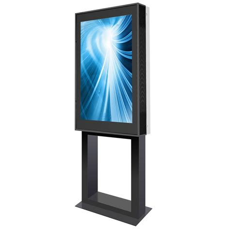 outdoor display outdoor stele doohkiosk mit 55 zoll display