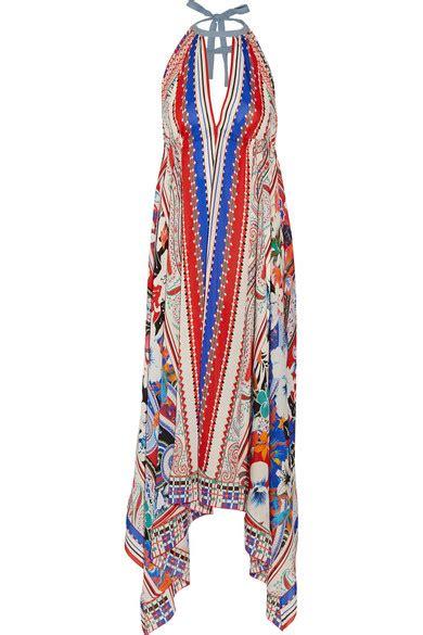 etro bombay printed silk crepe de chine maxi dress net