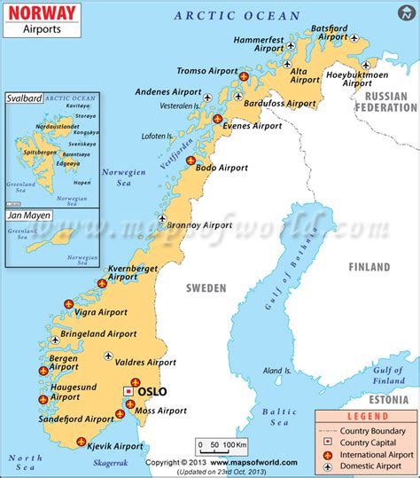 usa in map of world airports in norway norway airports map