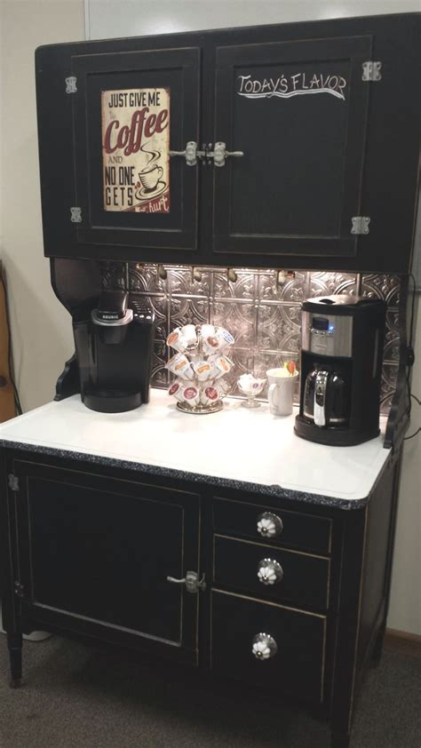 Coffee Bar Cabinet Best 25 Hoosier Cabinet Ideas On Pinterest Oak Furniture House Antique Hutch And Antiques