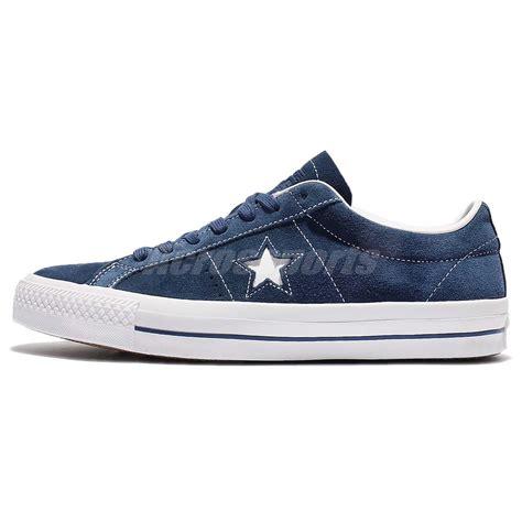Converse Original With Lunarlon converse one pro navy blue suede white lunarlon
