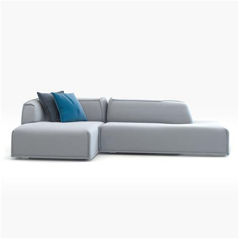 moroso massas sofa modern couch moroso massas 3d model max obj fbx cgtrader com