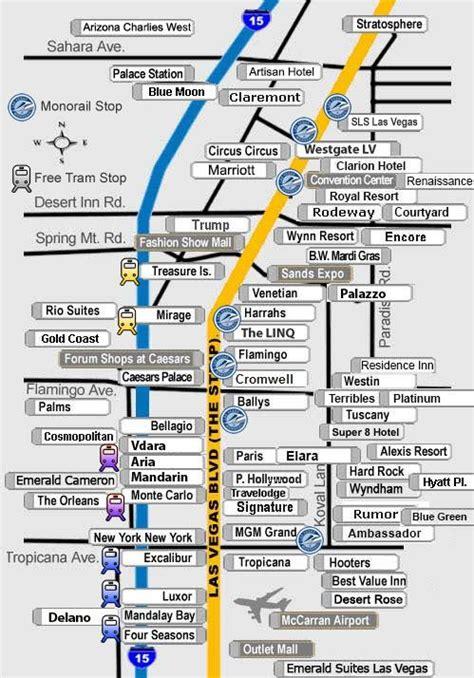 map las vegas mirage map of las vegas hotels and surrounding areas las