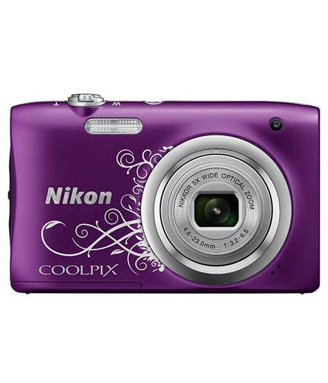 nikon coolpix digital price nikon coolpix a100 20 1mp digital purple price in