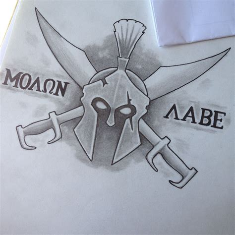 molon labe tattoo ideas molon labe design drawings molon