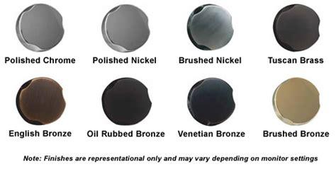 satin nickel vs chrome polished chrome